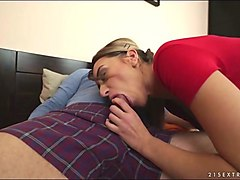 russian katrin tequila banged by grandpa