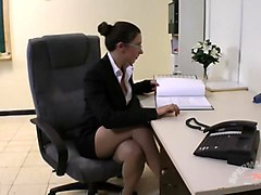 kinky office creampie sluts - julie skyhigh and anna -----rq