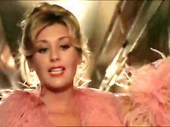 Anna Maria Rizzole seducing in train in an italian movie