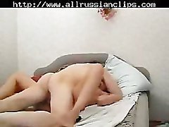 Russian Young Couple russian cumshots swallow
