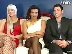sexix.net - 9396-tsseduction wife swapping husband swapping creampie christmas threesome 720p mp4