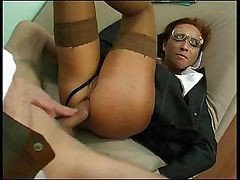 Anal Fuck Is Nice When It's In Uniform Babe.