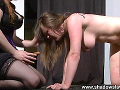 taylor hearts bizarre lesbian humiliation and boot licking