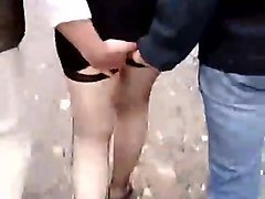 italian cuckold let strangers touch his wife at park