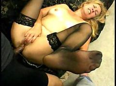 MILF gets it hard in the ass and mouth