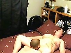 chubby emotional bitch with huge boobies is licked and fucked mish