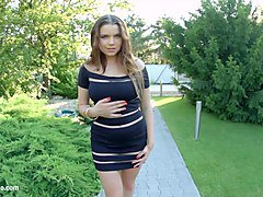 primecups russian beauty with huge melons plays with a dildo and spreads milk all over her hot body