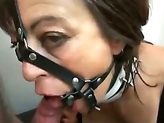 drilling dirty slut's ass hole in a missionary position