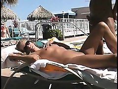 outdoor sex in location that is public