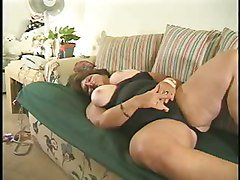 Mature Bbw Fucked On The Couch
