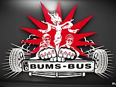 Bums Bus - German slut Meli Deluxe gets picked up for a sex ride