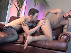 Jesse Santana, Wolf Hudson in First Time Fucked  - Bromo