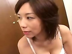 enticing asian milf seduces a younger man to please her ach
