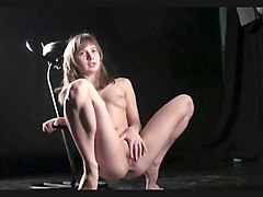Model nude photo session