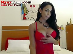 busty european babe likes to flaunt her big tits and she masturbates like mad