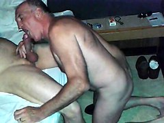 Old queer SUCKS HUGE DICK  FUCKS BAREBACK  LICKS ASS CUM