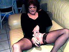 my mature wife masturbates her cunt with a dildo and sucks my dick