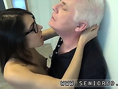 cock old clean up and ally ann old man carolina is crazy and